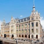The building of Conservatorium and its perfect location in the city center