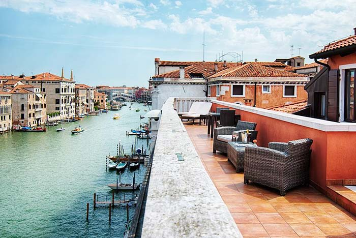 NH Collection Venezia Palazzo Barocci Junior Suite Grand Canal Terrace