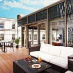 Hilton London Bankside Penthouse Terrace