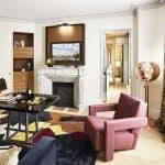 Hotel Montalembert Paris Suite Living Area