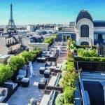 The Peninsula Paris Rooftop
