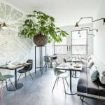 Meet other guests at the dining area in Stout & Co. Amsterdam