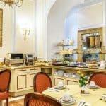 Albergo del Senato Rome Breakfast Room