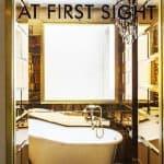 G-Rough Rome Pasquino Suite Bathroom