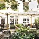 Hotel D'Aubusson Paris Patio