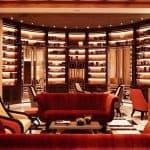 Hotel Eden Rome Library