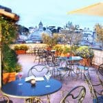 Hotel Locarno Rome Rooftop Bar