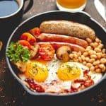 Qbic Hotel London Full English Breakfast