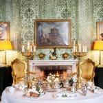 Residenza Napoleone III Rome Napoleone Suite Fireplace