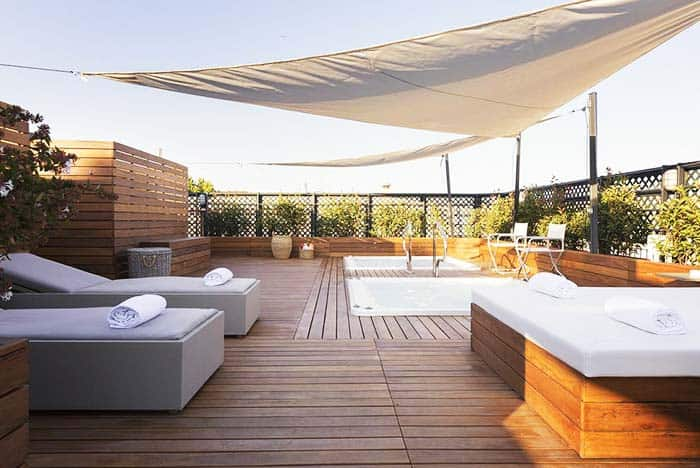 Villa Spalletti Trivelli Rome Rooftop Hot Tubs