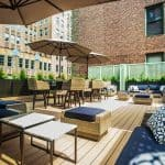 HGU New York Hotel Rooftop Terrace