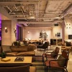 Moxy NYC Times Square Lounge Area