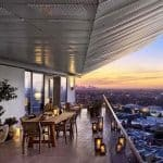 1 Hotel West Hollywood Los Angeles Terrace View