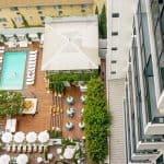 Mondrian Los Angeles Pool Area