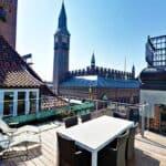 Scandic Palace Hotel Balcony