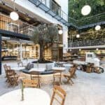 Ergon House Athens Outdoor Dining