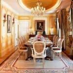 Hotel Grande Bretagne Presidential Suite Dining Room